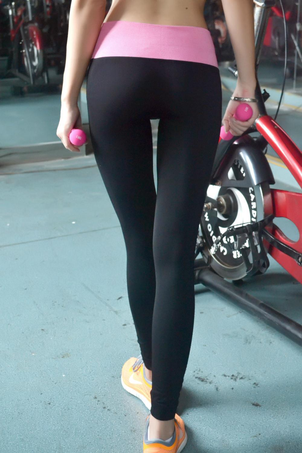 2017 Wholesale Women Professional Yoga Pants High Stretch Tight ...