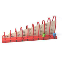 abacus maths - F98 pc Baby Kid Intelligence Wood Abacus Counting Number Frame Maths Educational Toy