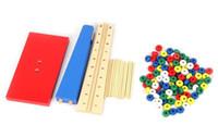 balance scale math - Montessori Educational Wooden Toy Scale Funny Toy Wooden Balance Game Math Toy Baby Early Developme Learning Blocks