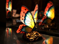 art deco accent lamp - Tiffany Style Butterfly Accent Table Lamp Butterfly Lamp decorative lamp