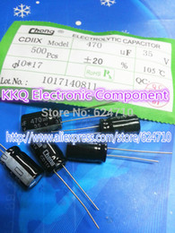 Wholesale V UF mm MM MM MM electrolytic capacitor NEW