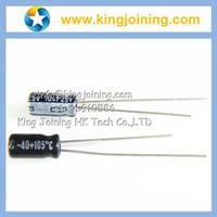 Wholesale UF V mf C X7mm Aluminum Electrolytic Capacitor V10UF radial lead