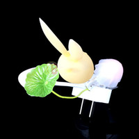 benefit auto - Dollarkey Economic for Benefit LED Mushroom Rabbit Auto Light Sensor Night Light Colorful Lamp Home Bedroom rising stars