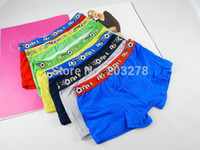 Wholesale football boys underwear shorts modal characters boxer shorts kids brief pantie children pants baby products
