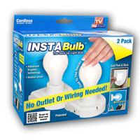 insta bulb - Pieces SET Insta Bulb Rope Creative Energy saving Wall Lamp Cabinet Llight Without Heat