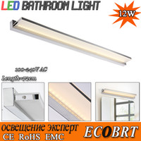 bathroom cabinet tops - New novelty W cm Super long LED Bathroom Mirror Tops Light lamps Wall mounted Cabinet Linear Bar lights AC v v
