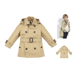Wholesale New Arrival New Children s clothing kids cotton trench coat hot selling Kachi hoodies jacket Boys fashion aby clothing