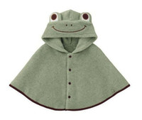 baby blanket hood - Fashion Baby Swaddle Warm Blanket Frog Hood Cape Coat Costume Cloak Outwear Baby Clothes Anne