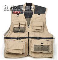 Cheap Fall-2016 drop shipping fashion Men Cotton Vest confortable Jackets Outdoor Tactical Hunting Fishing Waistcoat Coat For sport