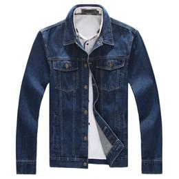 Discount Navy Denim Jacket | 2017 Navy Blue Denim Jacket on Sale ...