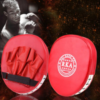 Wholesale MMA Gloves Synthetic Leather Boxing Gloves Mitt Training Target Focus Punch Pad Glove Karate Muay Kick Kit Guantes De Boxeo ZDD