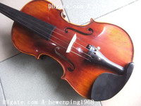 Wholesale New arrival rare antique Italian varnished violin with antique case