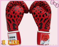 advanced sports training - Train Advanced Wristwrap Boxing Gloves sports gloves genuine leather gloves