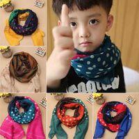 baby shawl pattern free - Child Kids Baby Voile Scarf Polka Dots Pattern Scarves Shawls Neckerchief Y