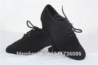 Wholesale dancesport dance ladies teacher practice shoes for ballroom dance or latin dance split sole t1b