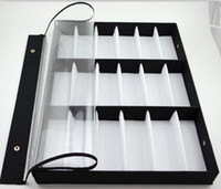 Wholesale New arrival grid glasses display box sunglasses storage shelf display props sunglasses display rack