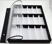 Wholesale New arrival grid glasses display box sunglasses storage shelf display props sunglasses display rack