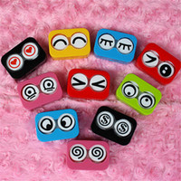 contact solution - Hot Selling Cartoon Cute Contact Lens Case Box Holder amp Accessories Solution Bottle Tweezers Stick