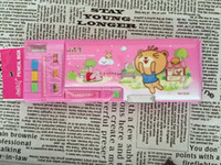 automatic pencil box - Multifunctional stationery box pencil box cartoon double faced automatic