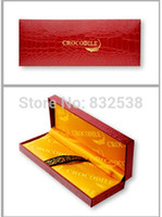 best wooden pencil - Pencil Box Stationery Estuches School High Quality Wooden Crocodile Gift Box with Booklet best Choice For A
