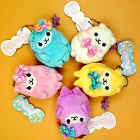 Wholesale Cute Alpaca Japan Amuse Alpacasso Arpakasso Coin Bag Wallet Plush Stuffed Doll PC