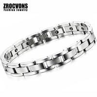 Vente en gros Tourmaline énergie Balance Bracelet Tourmaline Bracelet Santé Bijoux Pour Femmes Germanium Bracelets Magnetic Bracelets