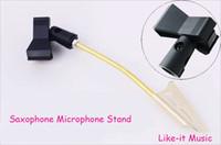 alto sax stand - Alto Saxophone Microphone Stand Sax Accessories