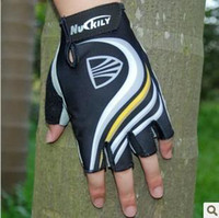 Wholesale NEW TREK Cycling Bike Bicycle half finger gloves M XL