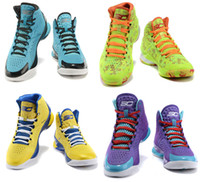 kids fabric cotton - 2015 Brand USA Stephen Curry One Athletic Basketball Shoes high quality women kids children Sport Sneaker Size US5