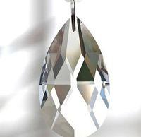 Wholesale mm crystal glass chandelier prism parts lighting prism parts
