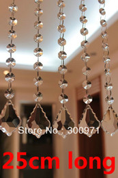 Wholesale inch cm long crystal prism chandelier bead chain crystal prisms for lighting chain by post air mail