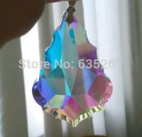Wholesale mm AB COLOR Crystal baroque pendant crystal prism chandelier sun catcher drop pendant
