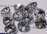 best octagons - EMS Fedex DHL Best Selling AAA Quality mm Silver Coating Crystal Octagons in holes