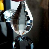 Wholesale Garland Chakra Spectra Rainbow Chandelier Glass K9 Crystals Lamp Lighting Prisms Parts Hanging Pendants mm M02248 B