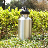 bicycle water bottle storage - ml Huge Storage Outdoor Sports Stainless Steel Wide Mouth Drinking Water Bottle for Camping Cycling For Hike Camp Sighseeing