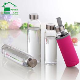 Wholesale my drinking glass water bottle ml protein shaker sports fruit watter bottles infuser