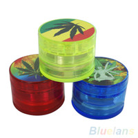 Wholesale Layer quot Leaf Herbal Herb Tobacco Grinder Smoke Spice Crusher Hand Mill Muller CKR