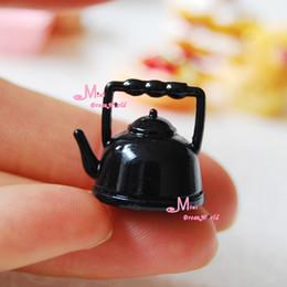 Wholesale Vintage Black kettle Dollhouse Miniature DK04
