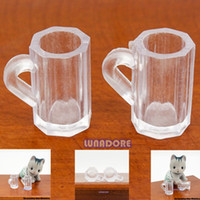 beer drinking accessories - Beer Cup Kitchen Dining Drink Miniature for Re ment Orcara Kitchen Accessories Dollhouse Decoration