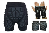 hip support - set Skiing flanchard set skiing hip pad kneepad wrist support palm protection
