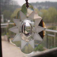 Wholesale mm Transparent Suncatcher Crystals Glass Garland Beads Chain Pendente De Cristal Lustre