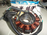 Cheap Wholesale-YAMAHA fast light welcome light 125 motorcycle parts magneto generator stator coil