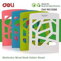 Wholesale Heavy Duty Metal Desktop Organizer Holder Stand Bookends Home Office Book Shelf