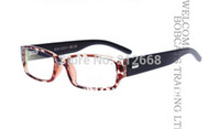 Cheap Wholesale-NEW Computer TV Radiation Protection Wooden leg Glasses Vision Care Gift