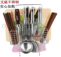 accessories stainless steel boards - Stainless Steel Multifunctional Tool Holder Cutting Board Rack For Stoops Shovel Spoon Storage Kitchenware Kitchen Accessories