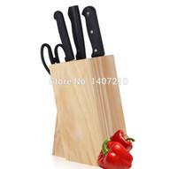 bamboo knife block - wood tool holder knife block kitchen supplies knife rack bamboo knife multifunctional tool holders knife rack solid wood