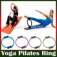 breast care equipment - Women Health beauty Slimming Pilate Ring PILATES MAGIC Fitness Circle For Yoga Ring breast equipment care sports practise tool