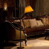 antique brass floor lamps - Vanilla Lighting led European retro living room bedroom floor lamp antique brass lamp scalable drop den floor lamp