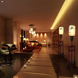 2017 cheap restaurant lighting wholesale island cheap chinese handmade cloth wooden floor lamp living room cheap island lighting