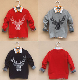 Wholesale-2015 Autumn Winter Children's Clothing Baby Sweaters kids sweater girls Pullovers boys sweaters kids cardigan warm boy